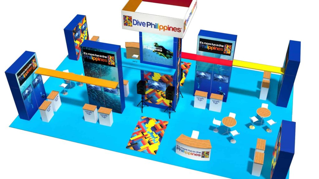 30x50 booth rental
