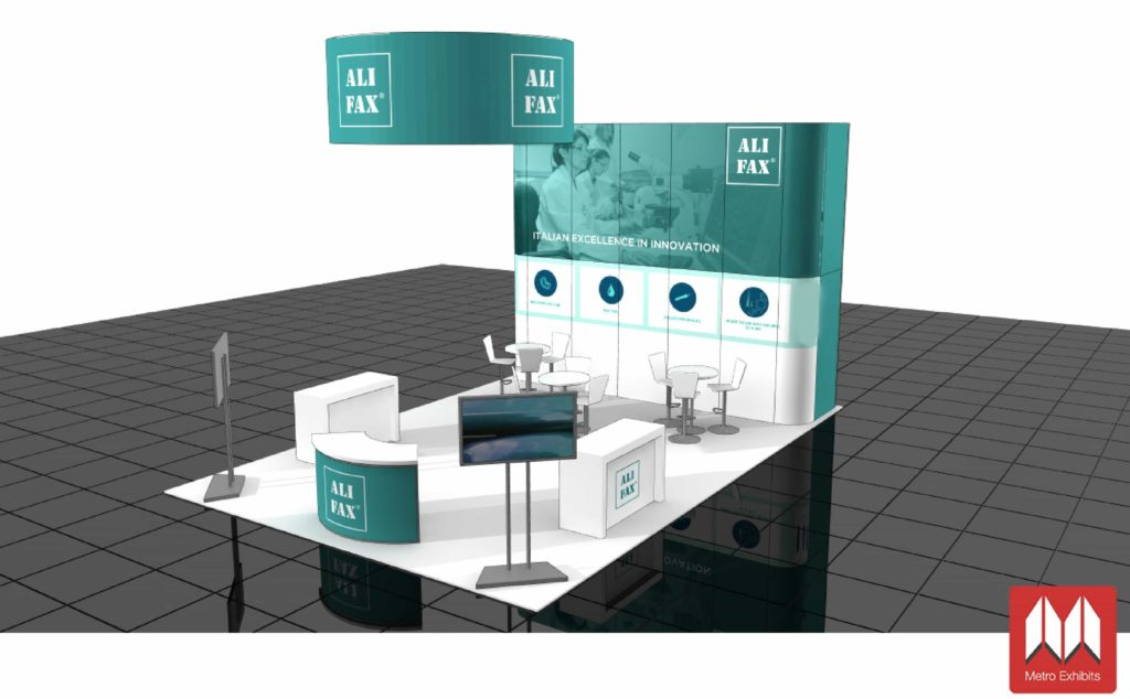 trade show rental 20x30 booth