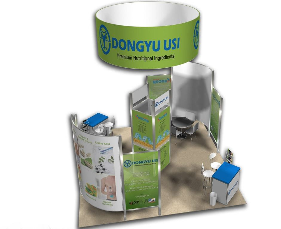 rental booth display 20x20