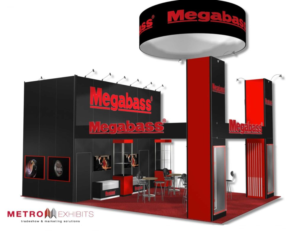 20x30 trade show booth rental