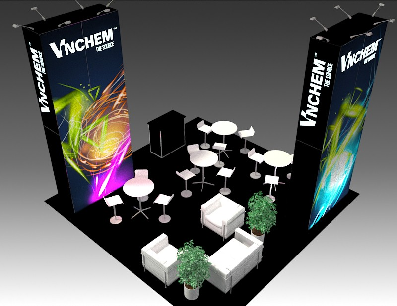 exhibit rental 20x20